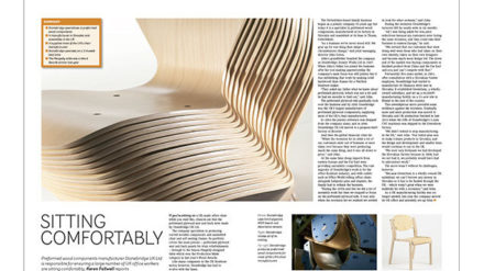 Sitting Comfortably for Timber Trades Journal