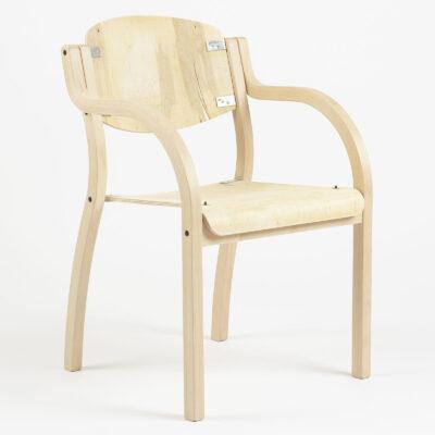 Luke - Geschwungener Sessel