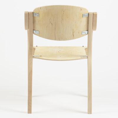Harrison Arm Chair (Show-wood Back)