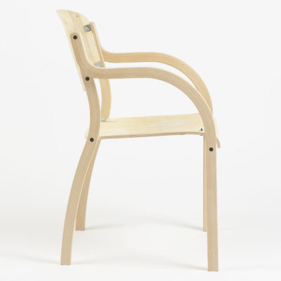 Luke Arc Arm Chair