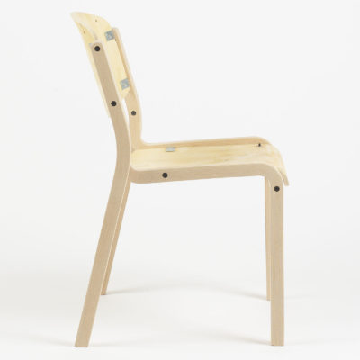 Luke Square Side Chair