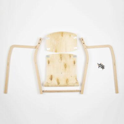 Luke Square Arm Chair